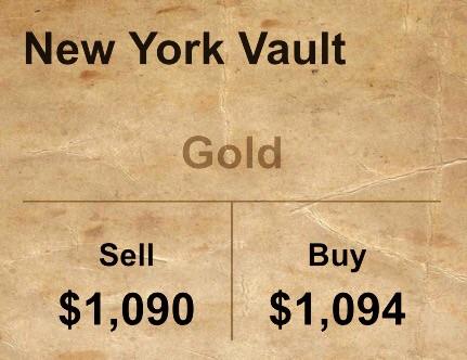 ราคาทองคำล่าสุด